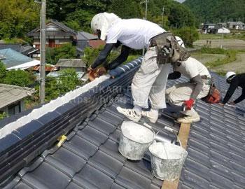 屋根葺き替え(瓦葺き・漆喰)