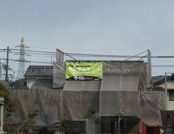 総社市で外壁塗装工事はじまりました(^O^)/