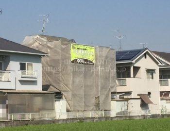 岡山市東区I様邸 屋根・外壁塗装工事着工!