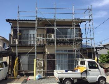 岡山市南区で、屋根の塗装を行います!