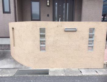 塀の塗装もお任せあれ!