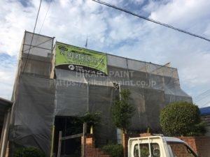 岡山市北区A様邸 外壁の塗装工事を行います!
