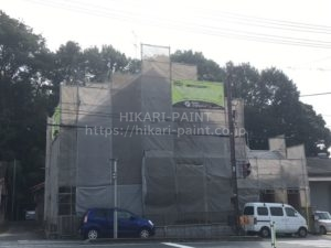 都窪郡早島町M様邸 屋根&外壁の塗装工事です!