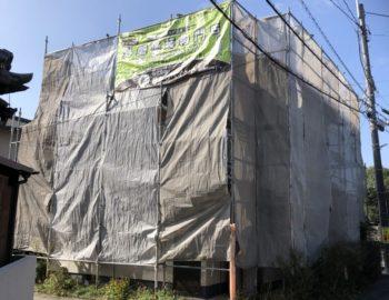 岡山市北区H様邸 屋根の塗装工事を行います!