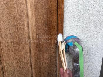 木部ノーベル塗布