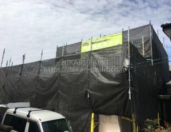 倉敷市水江H様邸 屋根・外壁塗装工事スタート!