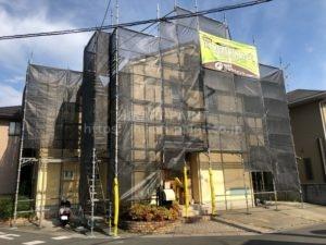 岡山市北区I様邸で、外壁の塗装工事をします!