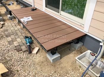 床板の設置