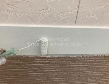 幕板 上塗り