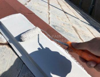 屋根(板金) 下塗り