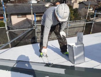 屋根(板金) 中塗り
