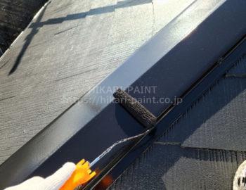 屋根(板金) 上塗り