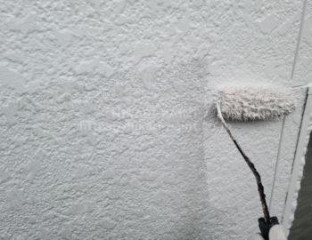 外壁(1階部分) 中塗り