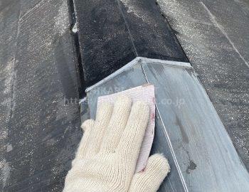 屋根(板金板) 下地処理