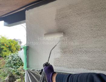 離れ 外壁下塗り