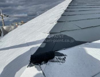 屋根板金 中塗り・上塗り