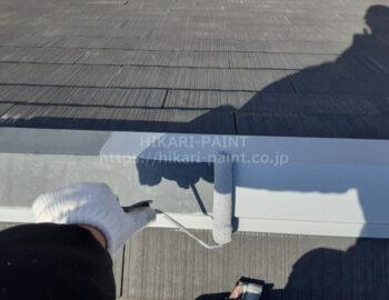 屋根板金 下塗り