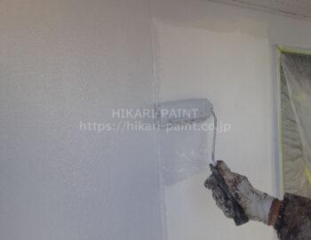 外壁全体 中塗り