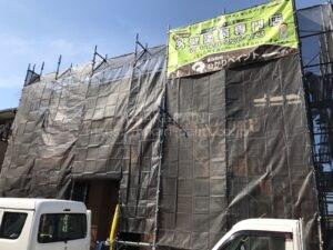 岡山市南区S様邸 塗装工事始まりました😃