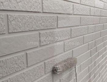 外壁全体 上塗り