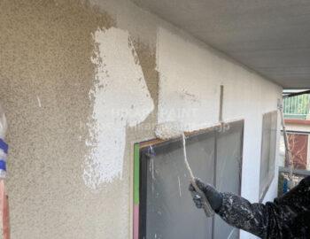 2階外壁 下塗り