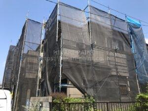 屋根外壁塗装工事始まりました🏠
