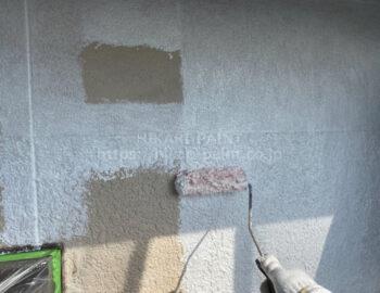外壁全体 下塗り