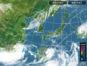 台風時期の塗装工事🌀
