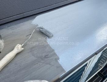 出窓 下塗り